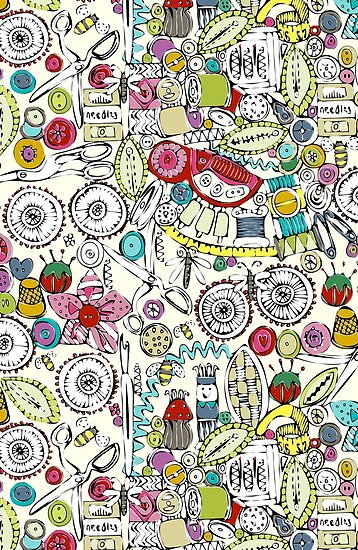 bits and bobs and bugs (card) by Sharon Turner