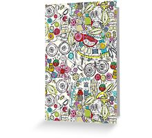 bits and bobs and bugs (card) Greeting Card