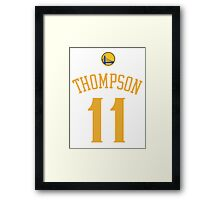 Klay Thompson Framed Print