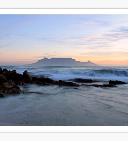Rough waters - Cape Town Sticker