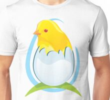 cute colored chicken Unisex T-Shirt