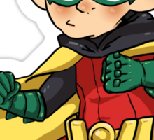 Batman & Robin || Damian Wayne Sticker