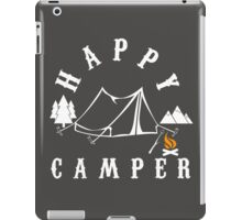 happy camper iPad Case/Skin