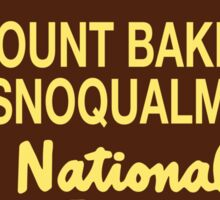 Mount Baker - Snoqualmie National Forest Sticker