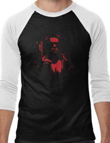 Terminate Red Men's Baseball ¾ T-Shirt