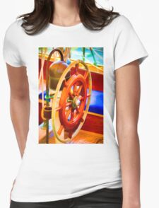 Color Wheel Womens Fitted T-Shirt