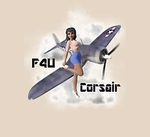 F4U Pin Up Art 3 Unisex T-Shirt
