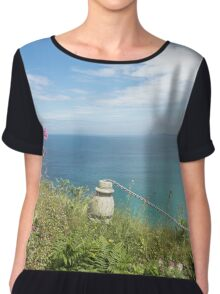 Looking Out To Sea Chiffon Top