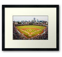 Wrigley Field 100 Framed Print