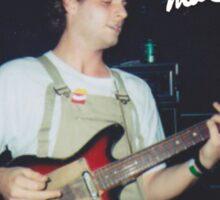 Mac + Guitar  Sticker