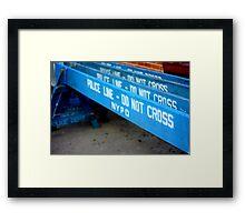 The Barricades Framed Print