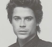 Rob Lowe by sophiemancini