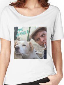 Mac Demarco's dog selfie Women's Relaxed Fit T-Shirt