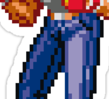 Streets of Rage 2 - Axel Stone  Sticker
