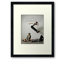 THE LUMINEERS BEST SELLING POSTER HQ Framed Print