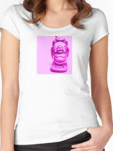 blessings!!!! Women's Fitted Scoop T-Shirt