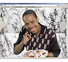 Earl Pizza Photographic Print