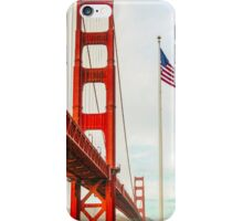 San Francisco California USA, Golden Gate Bridge iPhone Case/Skin