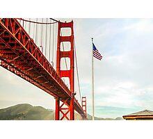 San Francisco California USA, Golden Gate Bridge Photographic Print