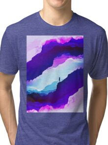 Violet dream of Isolation Tri-blend T-Shirt