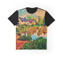 COUNTRY COTTAGES 1D Graphic T-Shirt