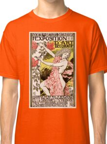 French Vintage Poster 1894 Restored Classic T-Shirt