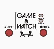 NINTENDO GAME & WATCH One Piece - Short Sleeve