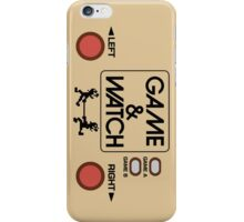NINTENDO GAME & WATCH iPhone Case/Skin