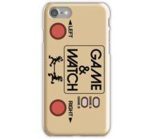 NINTENDO GAME & WATCH iPhone Case/Skin