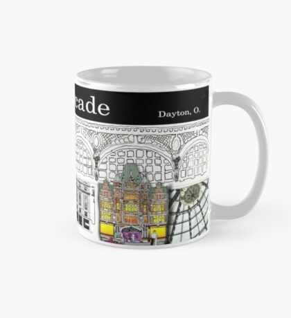 Dayton Arcade Mug in BW and Color Mug