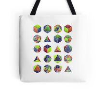 Sacred shapes and colors pop geometry  Tote Bag