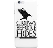 Game of Thrones - Crows Before H*es iPhone Case/Skin