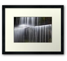 Miami County Falling Water Framed Print