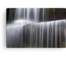 Miami County Falling Water Canvas Print