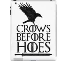 Game of Thrones - Crows Before H*es iPad Case/Skin