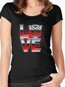 LOVEBOTS Women's Fitted Scoop T-Shirt