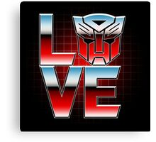 LOVEBOTS Canvas Print