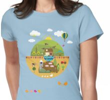 Farm  Womens Fitted T-Shirt