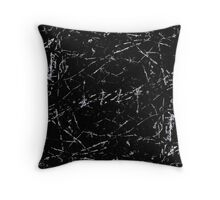 Line Art - Cracks no.2 Throw Pillow
