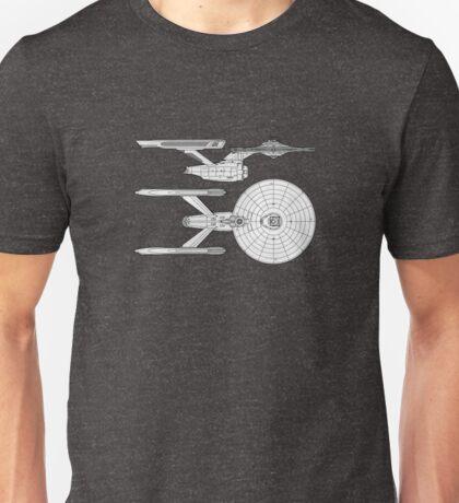 U.S.S Enterprise Print Unisex T-Shirt