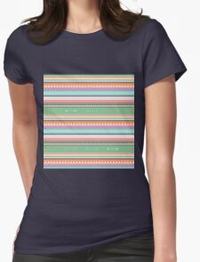 PASTEL ETHNIC ATAKAPA  Womens Fitted T-Shirt