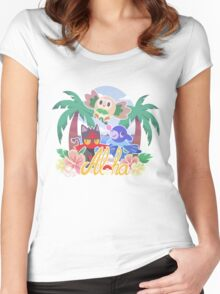 Pokemon Sun & Moon - Aloha Women's Fitted Scoop T-Shirt