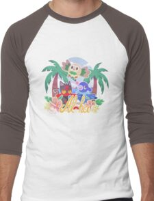 Pokemon Sun & Moon - Aloha Men's Baseball ¾ T-Shirt
