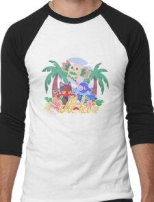 Pokemon Sun & Moon - Aloha Men's Baseball ¾ T-Shirt