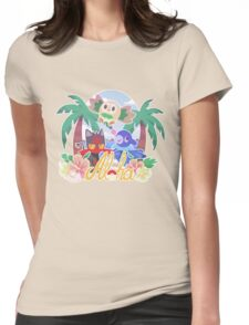 Pokemon Sun & Moon - Aloha Womens Fitted T-Shirt