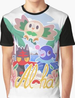 Pokemon Sun & Moon - Aloha Graphic T-Shirt