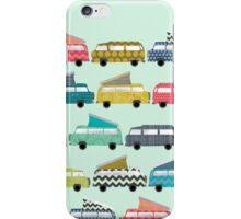 geo campers mint iPhone Case/Skin