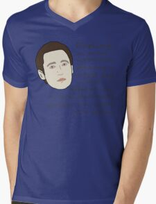 A Proclamation Of Love From An Android Mens V-Neck T-Shirt