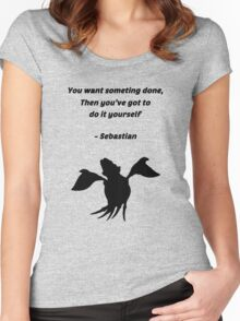 Sebastian Quote Women's Fitted Scoop T-Shirt