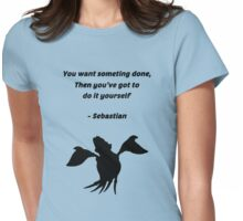 Sebastian Quote Womens Fitted T-Shirt